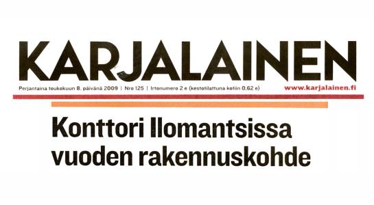 Ark-konttori l&k Karjalainen lehtijuttu