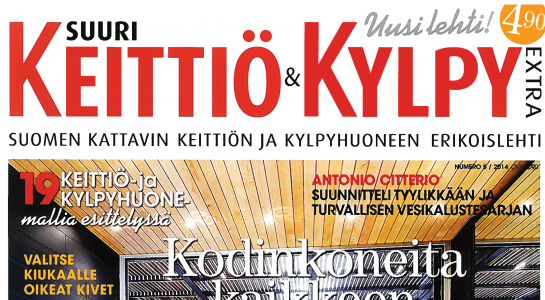 Ark-konttori l&k Keittiö & Kylpy lehtijuttu