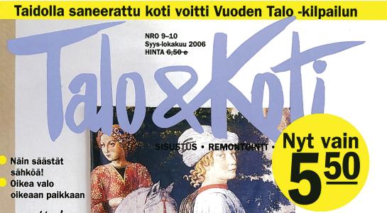 Ark-konttori l&k Talo & Koti lehtijuttu